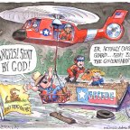 Politico Cartoon Mocking Right-wing Texans Inadvertently Reveals Their Political Ideology