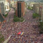 Venezuela Protests Lead To New Interim President